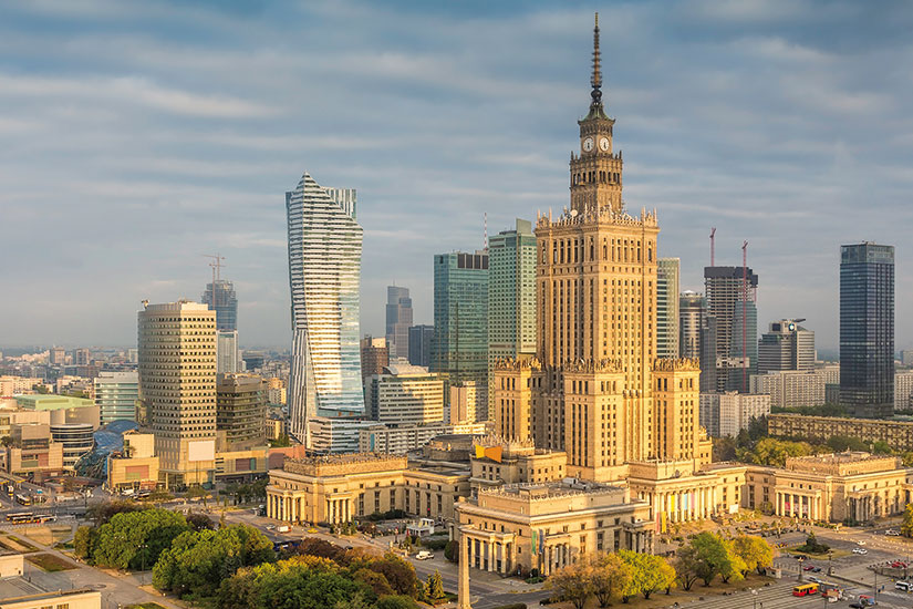 image pologne varsovie panorama  fo