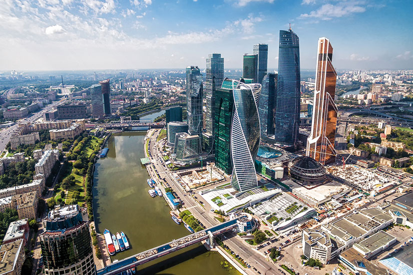 image russie moscou panorama  fo