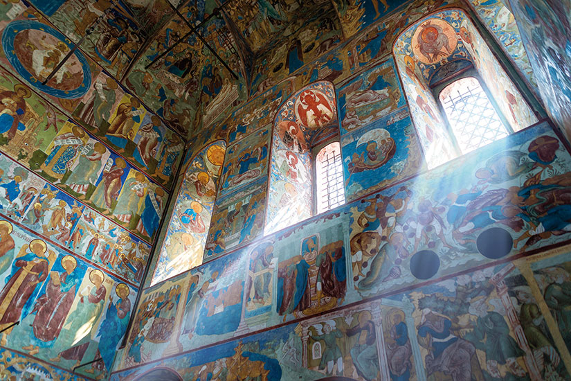 image russie rostov veliki interieur cathedrale  it