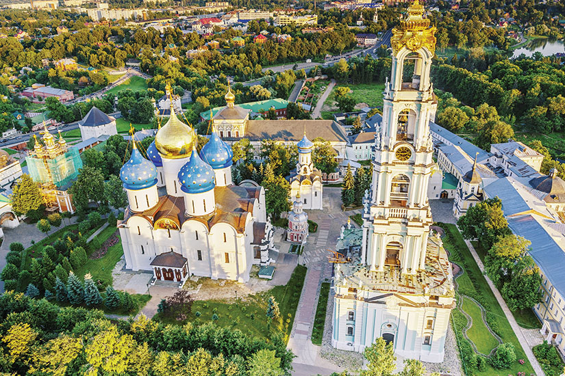 image russie sergiyev posad trinite lavra saint serge  fo