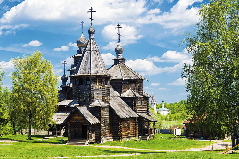 image russie suzdal musee architecture bois  fo