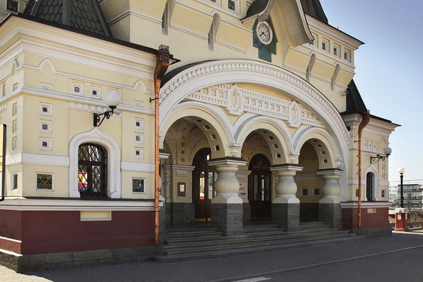 image russie vladivostok gare ferroviaire  it