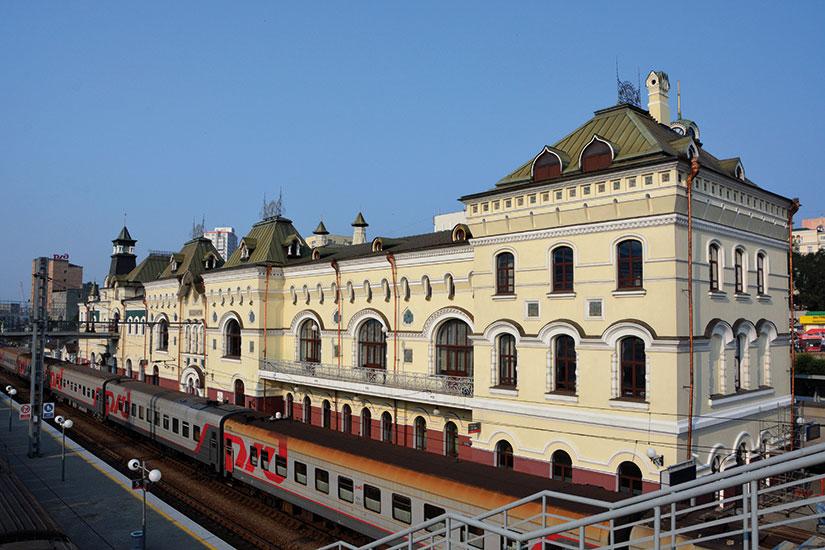 image russie vladivostok gare ferroviaire  fo