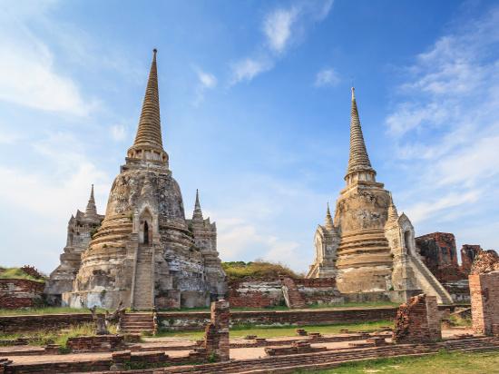 image thailande ayutthaya historical Park Thailand