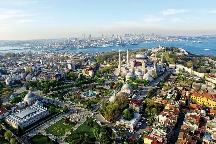 image turquie istanbul vue aerienne  fo