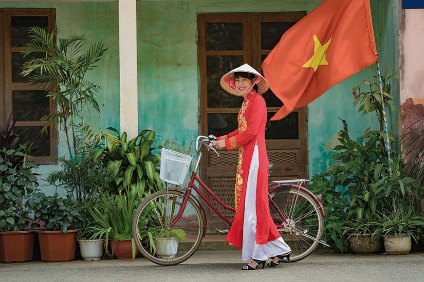 image vietnam femmes velo  fo