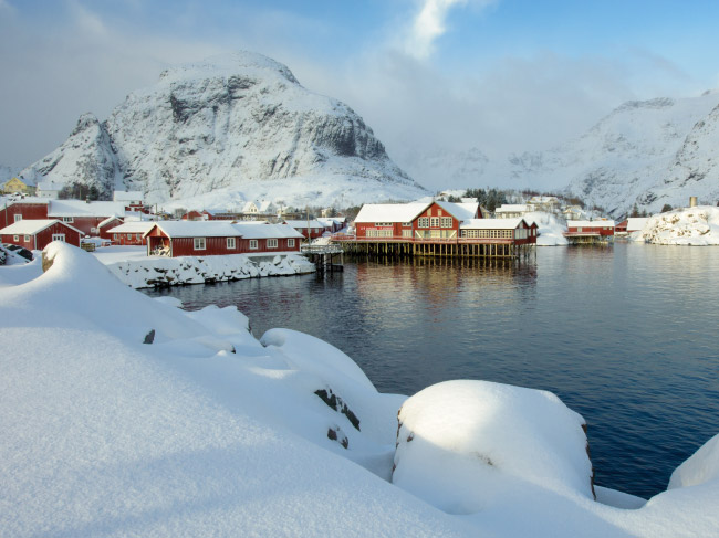(Images) images norvege lofoten hiver