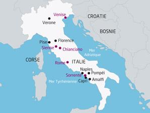 Carte Italie pise » Vacances   Arts  Guides Voyages