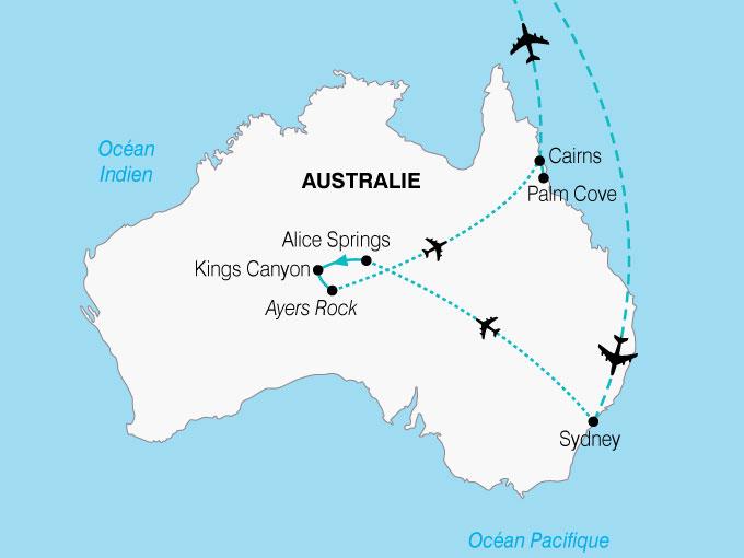 CARTE Australie Essentiel  shhiver 510775