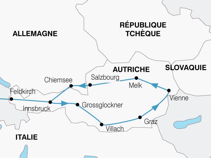 CARTE Autriche Grand Tour  shhiver 640022