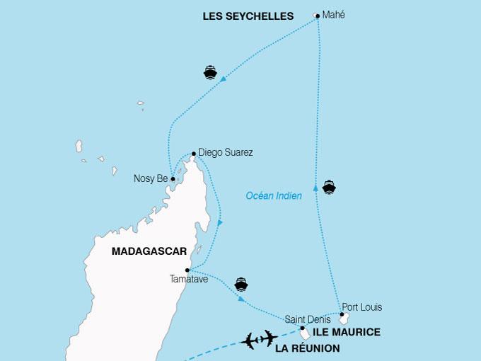 CARTE Croisiere OceanIndien  shhiver 502707