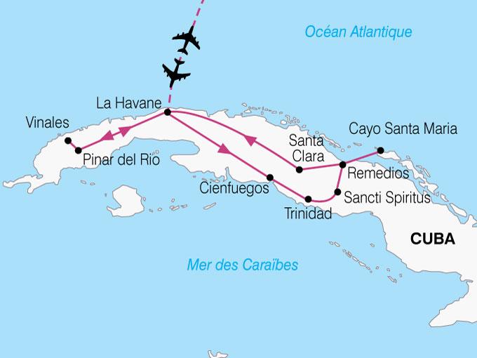 CARTE Cuba Essentiel Cuba  shhiver 425651