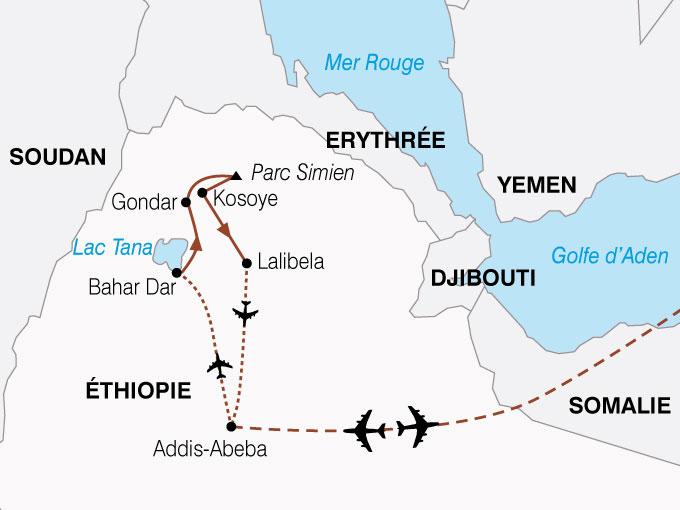 CARTE Ethiopie culture Tradition Amarique  shhiver 293586