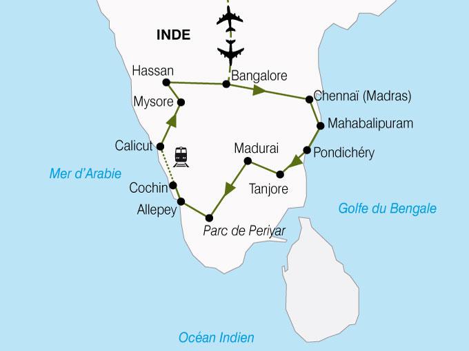CARTE Inde Comptoirs Des Indes  shhiver 145071