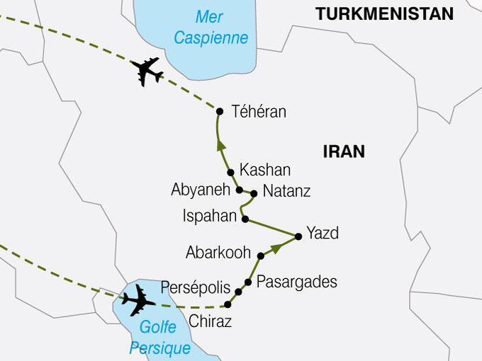 CARTE Iran Heritagedela Perse  shhiver 195269