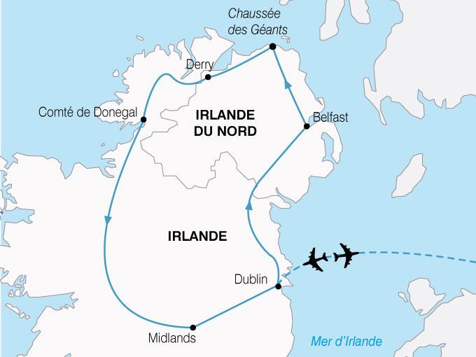 CARTE Irlande Heritage Celtique  shhiver 682085
