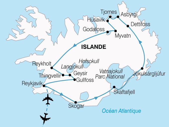 CARTE Islande LEssentiel  shhiver 382804