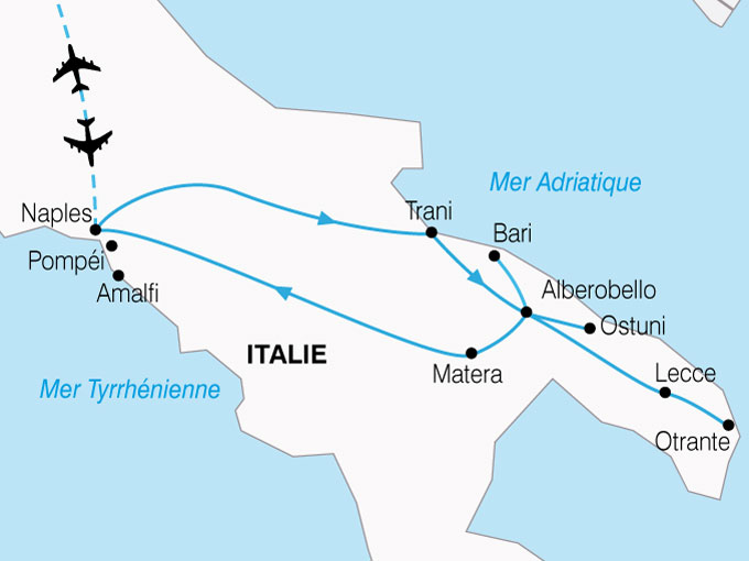 CARTE Italie Dolce Vita Napolitaine  shhiver 312491
