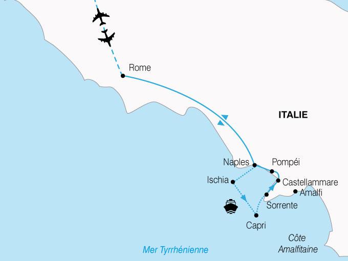 CARTE Italie Eternelle  shhiver 700215