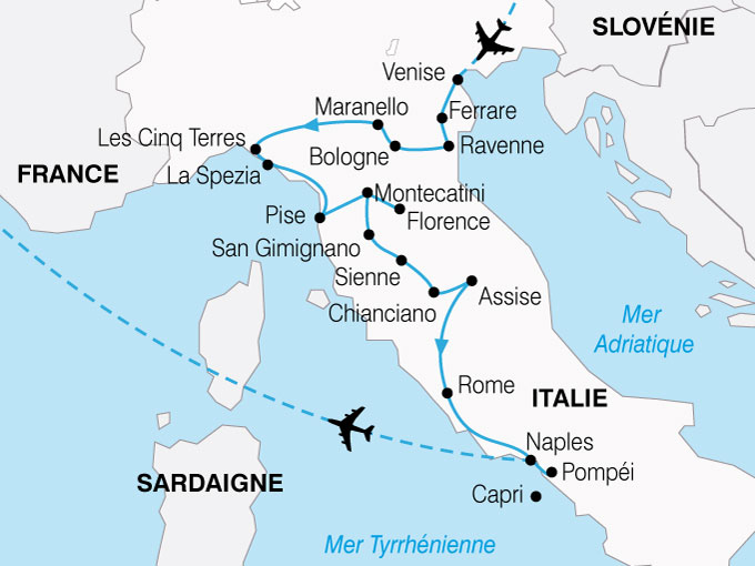 CARTE Italie Grand Tour  shhiver 220364