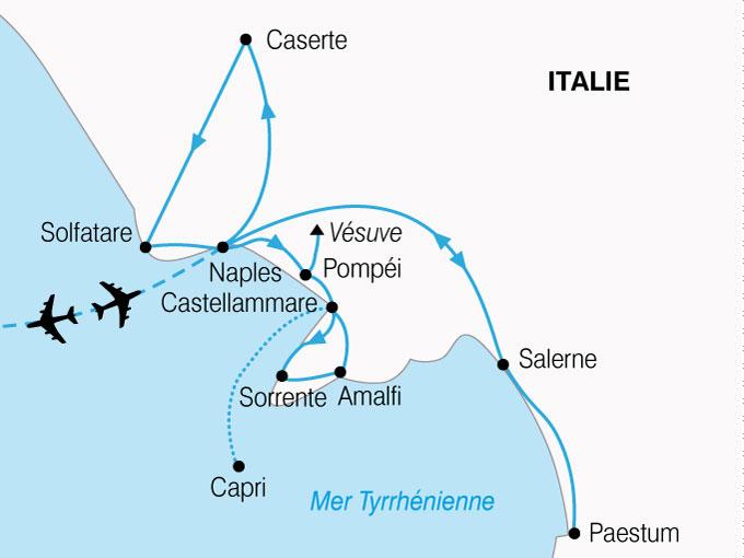 CARTE Italie Naples La Plus Belle Baie Du Monde  shhiver 442283