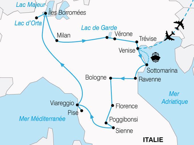 CARTE Italie Or Et Marbre  shhiver 383835