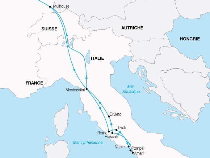 CARTE Italie Rome Sud Italie  shhiver 851260