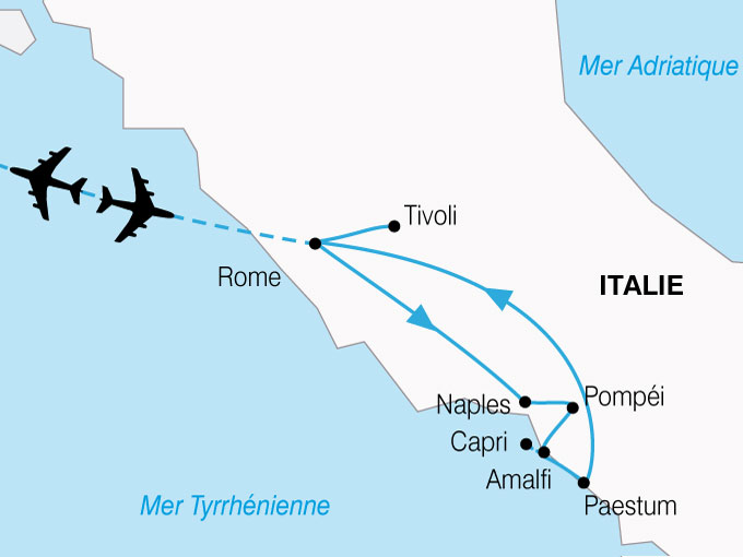 CARTE Italie Sud  shhiver 502575