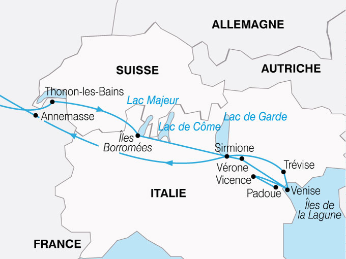 CARTE Italie Venise Venetie  shhiver 387125