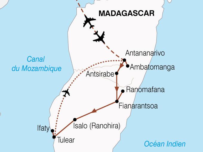 CARTE Madagascar Merveilles Mada  shhiver 588216