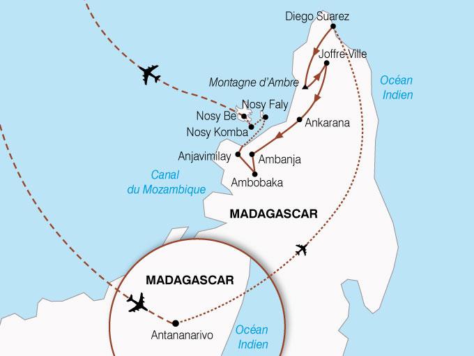 CARTE Madagascar Parfum Du Nord  shhiver 842732