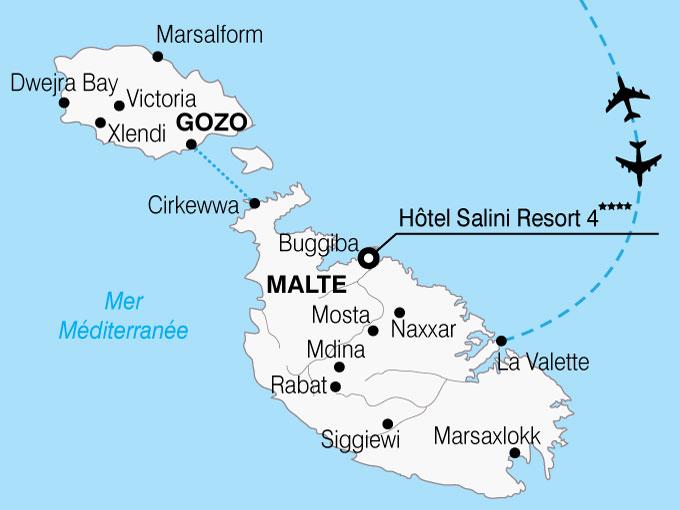 CARTE Malte Hotel Salini Resort  shhiver 558010