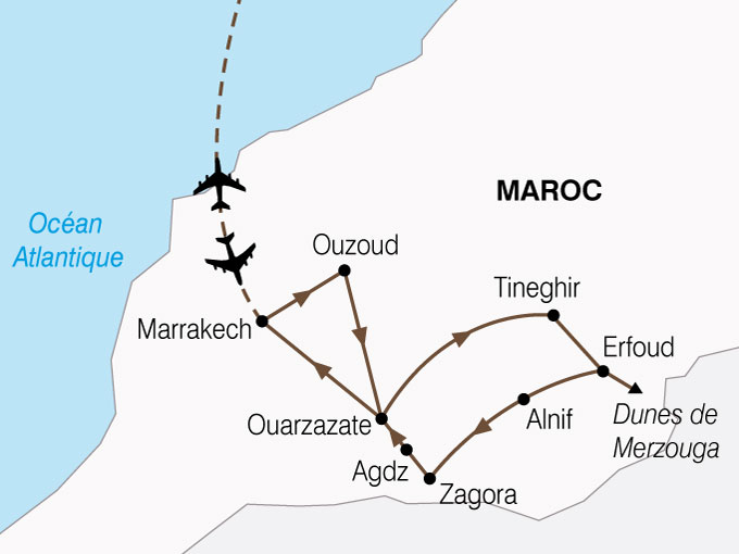 CARTE Maroc Desert Oasis x  shhiver 258729