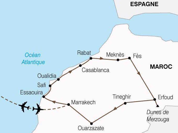 CARTE Maroc Splendeurs Marocaines  shhiver 203697