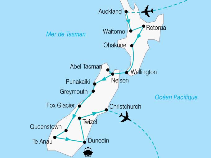 Nouvelle Zélande - Circuit Nouvelle Zélande Insolite