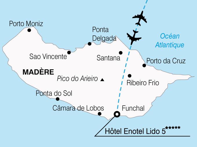 CARTE Portugal Madere Hotel Enotel Lido  shhiver 663320