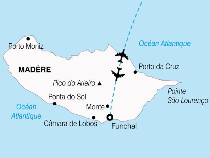 CARTE Portugal MadereIle Aux Fleurs  shhiver 675563