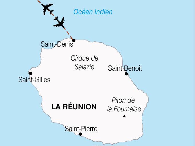 CARTE Reunion Ile Bourbon  shhiver 776680