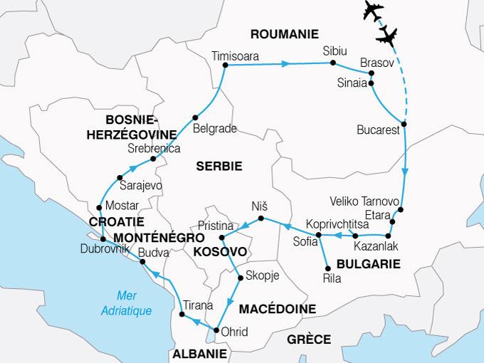 CARTE Roumanie Secrets de Balkans  shhiver 341448