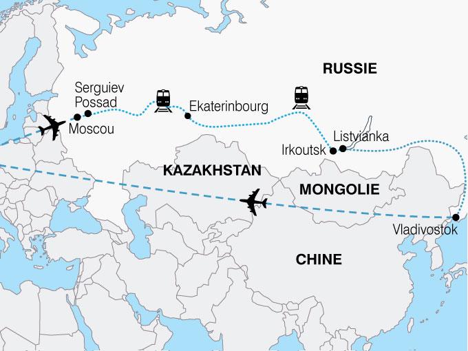 CARTE Russie Terminus Vladivostok  shhiver 511974