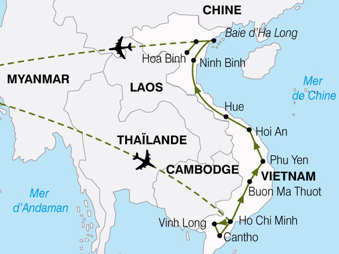 CARTE Vietnam Coeur Vietnam  shhiver 333732