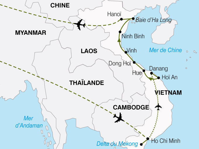 Vietnam - Circuit Escapade Vietnamienne