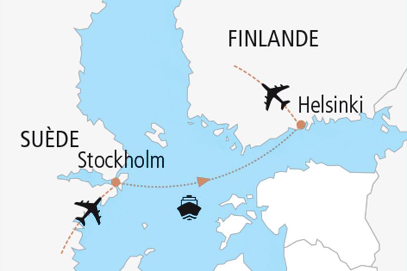 carte  Carte Nouvel An Baltique 136887