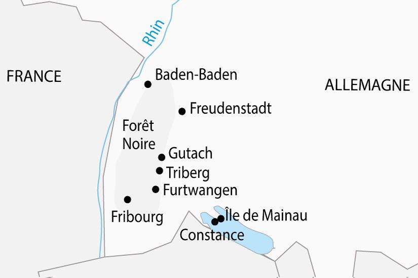 carte Allemagne Foret Noire depart sud 2019_297 421923