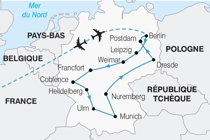 carte Allemagne Le Grand Tour d Allemagne 2019_292 843956
