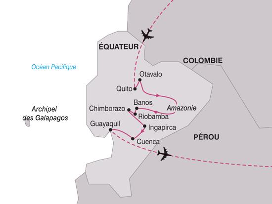 carte AmeriqueSud Equateur Paysage 489865