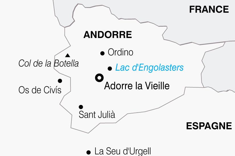 carte Andorre 832325