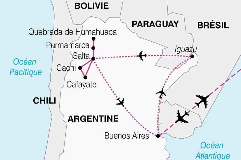 carte Argentine Sur Un Air Tango 437080