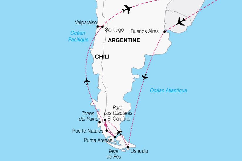 carte Argentine chili 514595