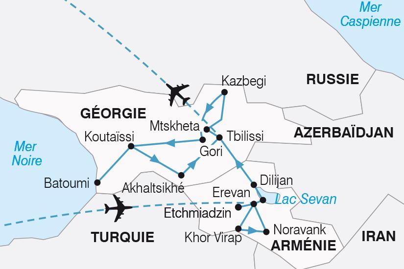 carte Armenie Georgie la memoire du monde SH20_339 510512